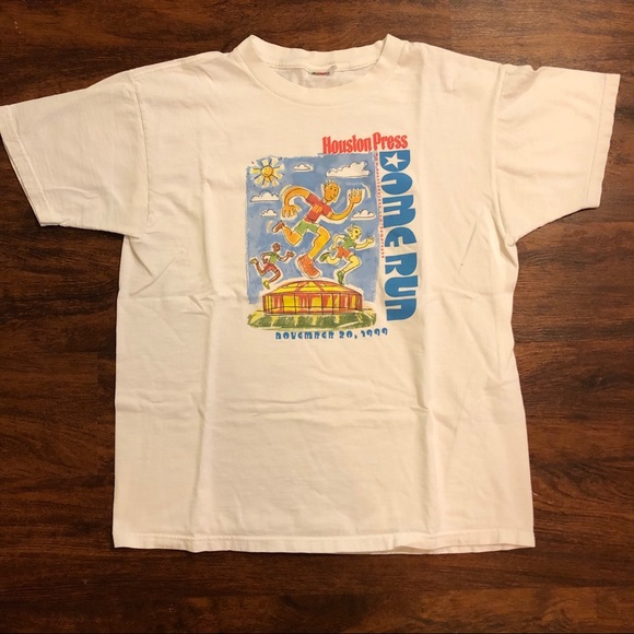Vintage Other - Vintage Houston marathon shirt